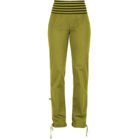 E9 Lem - Pantalon long Femme - jaune